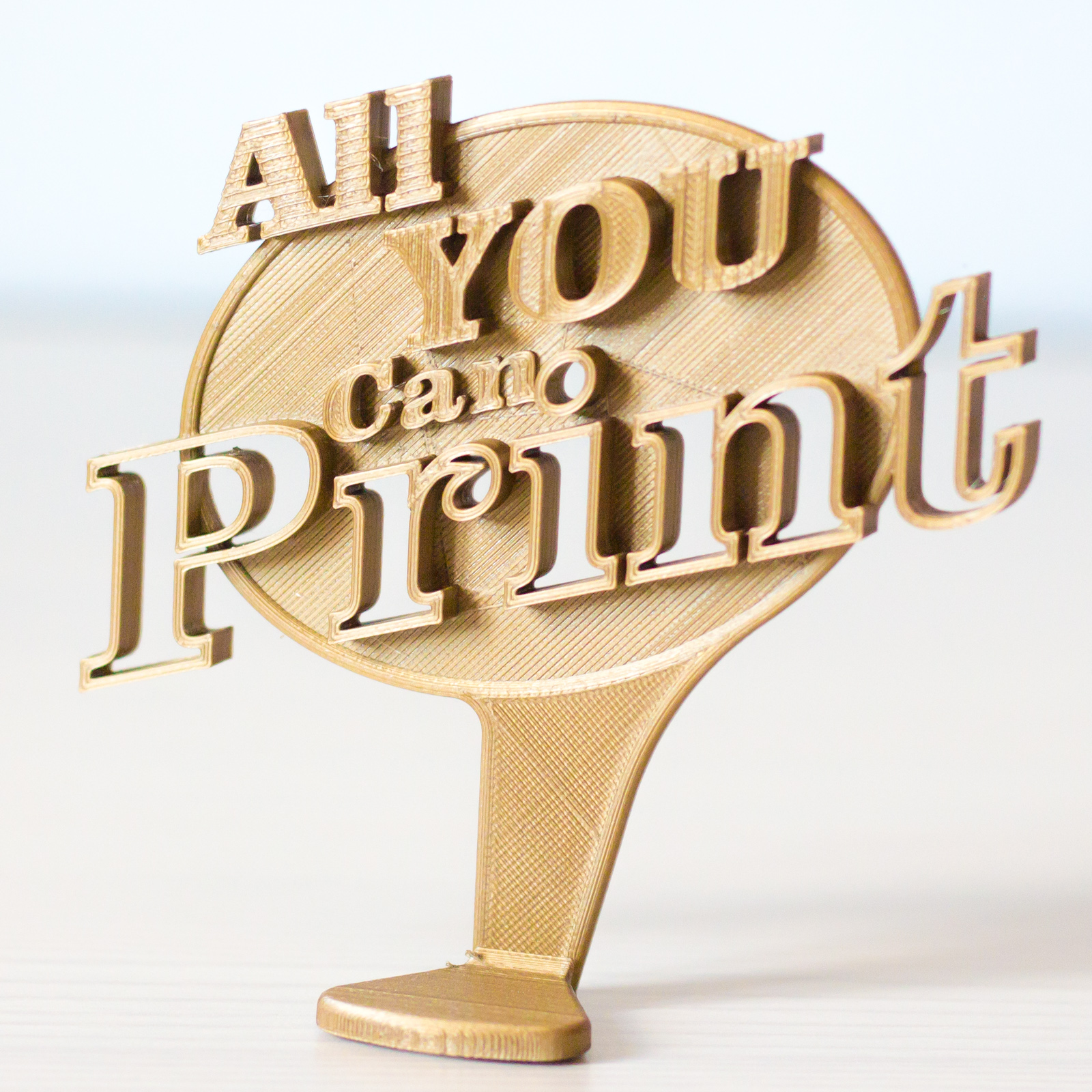 All you can print